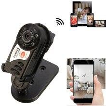 Q7 Mini Wi-Fi DVR Беспроводной IP видеокамеры Регистраторы Камера инфракрасный Ночное видение Камера обнаружения движения Встроенный микрофон