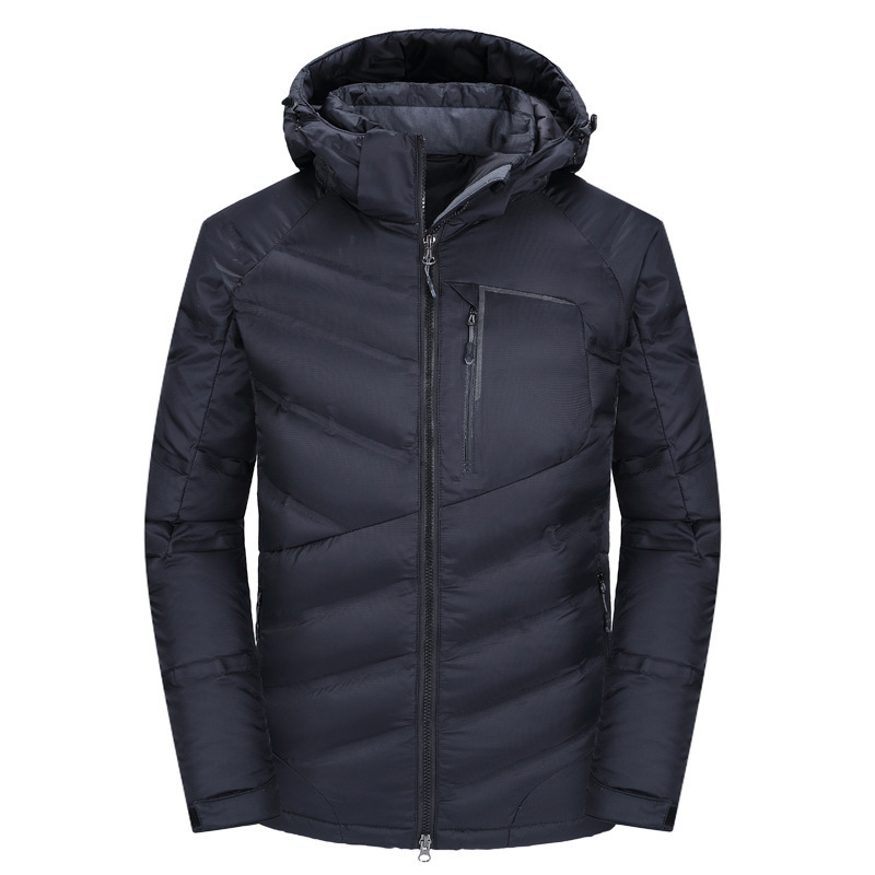 New Thick Winter Down Jacket Men High-end Quality Men Warm Duck Down Jacket Windproof Brand Male Down Coat