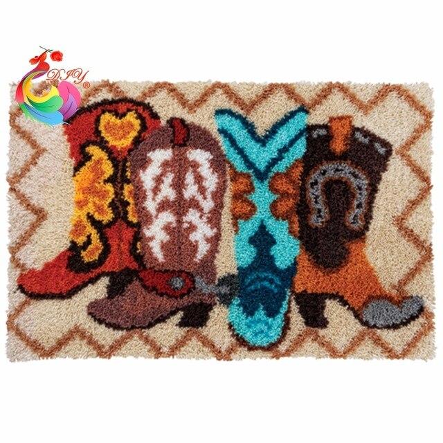kit tricot tapis