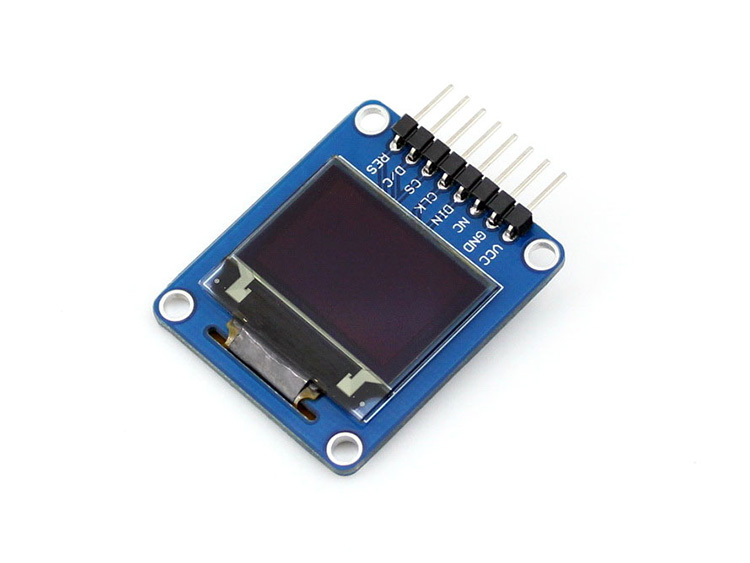 0.95inch RGB OLED (A) LCD LED Display Module Driver Chip SSD1331 Resolution 96 x 64 SPI I2C Interfaces with Horizontal Pinheader module 1 3inch oled lcd led display module driver chip sh1106 128 64 resolution spi i2c interfaces with straight vertical pinhea