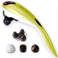 New Electric Dolphin Massager neck massage hammer Vibration body massage stick.Roller Cervical vertebra massager device