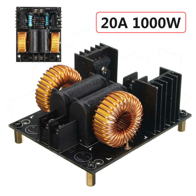 15A DC 12-30V 450W ZVS Low Voltage Induction Heating Board Module Flyback Driver Heater Play Free Shipping