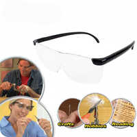 FGHGF 250 grados lupa gafas 1.6x gafas presbiópicas lupa para bordar grande lupa de lectura diadema