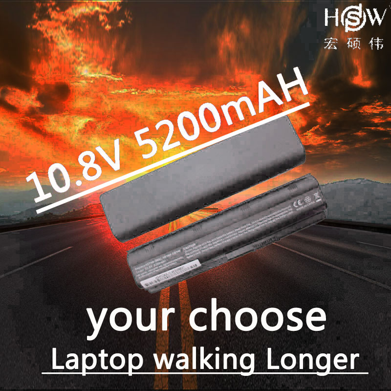 HSW 5200mAh Laptop Battery for HP Pavilion G6 DV3 DM4 G32 G4 G42 G62 G7 G72 for Compaq Presario CQ32 CQ42 CQ43 CQ56 CQ62 CQ72 hsw 10400mah battery for hp pavilion dm4 dv3 dv5 dv6 dv7 g4 g6 g7 g72 g62 g42 for presario cq32 cq42 cq43 cq56 cq62 cq72 mu06