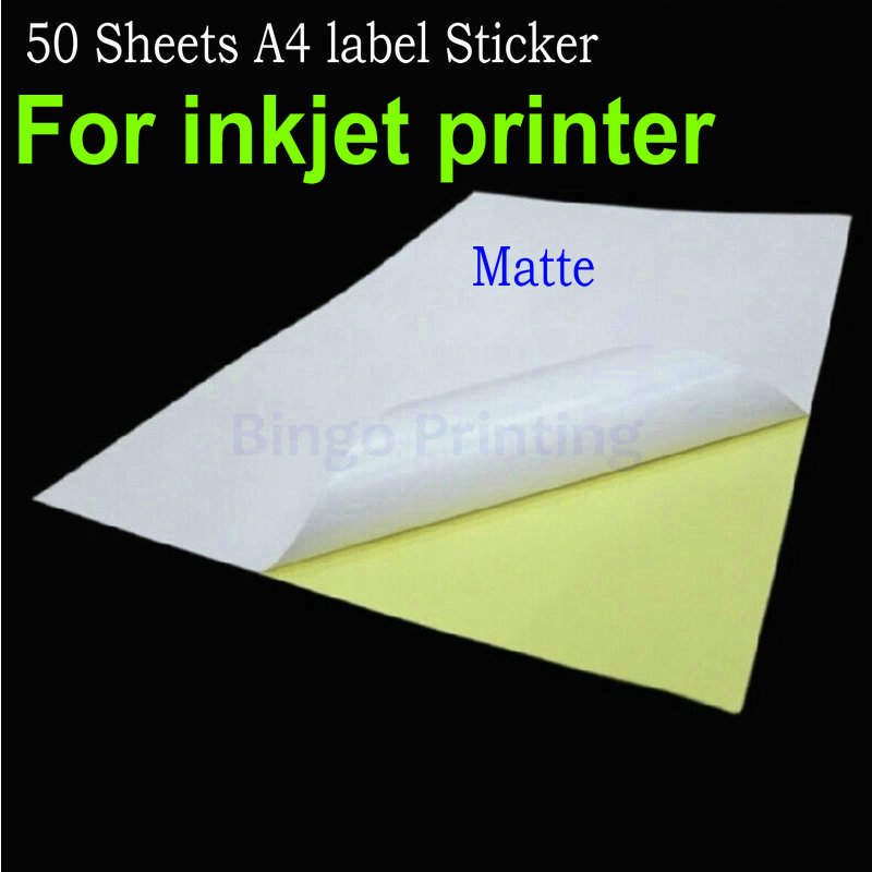 Online Buy Wholesale A4 Sticker Paper From China A4