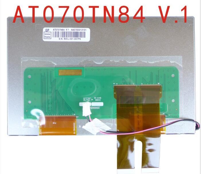 все цены на New original AT070TN82/7 inch LCD screen /AT070TN84 V.1 caska DVD stereo display онлайн