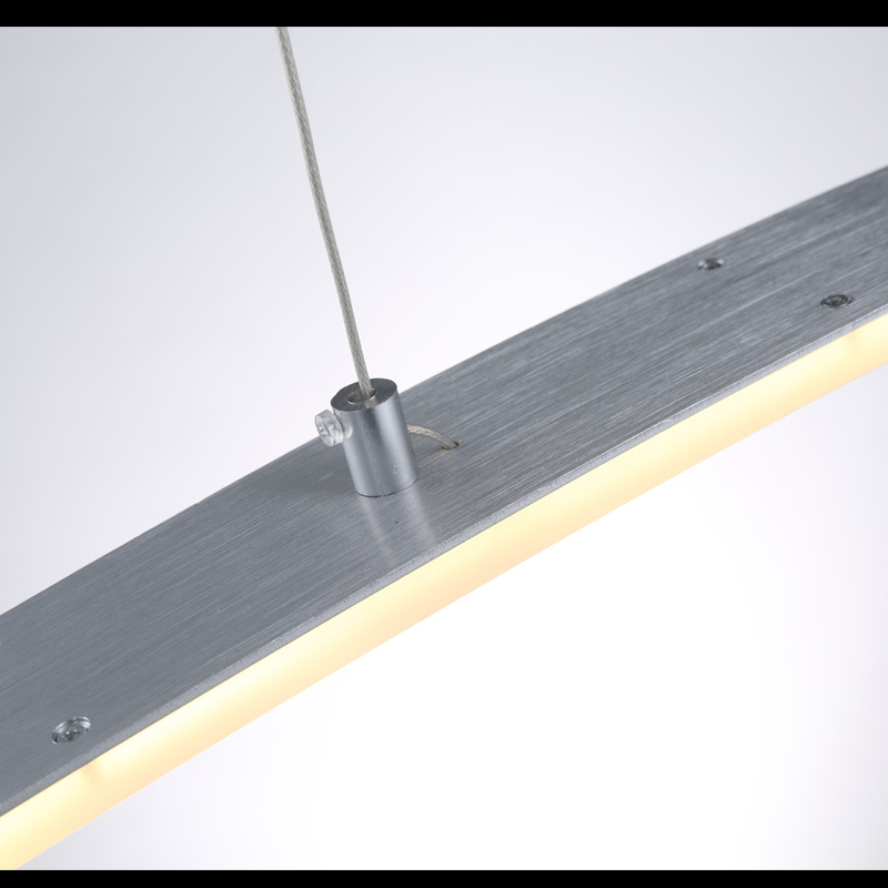 comprar envo rpido acrlico led de la lmpara para comedor cocina estudio w v acero inoxidable araa luces lcm de led light