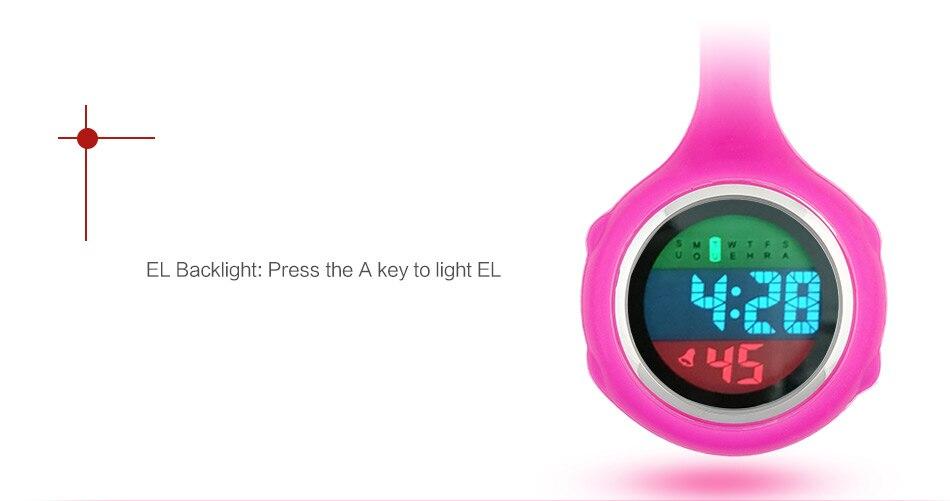 2019 ALK Digital Silicone nurse watch fob pocket watch doctor nurse timepiece brooch lapel Medical Nurse Watch Quartz with Clip 15