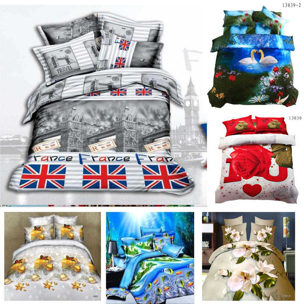 Black and white design the british flag style bedding sets 3d bedclothes duvet cover sets queen - Black and white design comforter ...