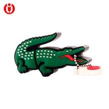Модель Alligator usb флэш-накопитель 4 ГБ 8 ГБ 16 ГБ 32 ГБ 64 ГБ usb флеш-накопитель usb, 128 Гб мультфильм крокодил Подарочная флешка