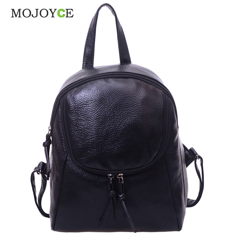 Leisure Women Backpack Waterproof PU Leather School Bags for Teenage Girls Ladies Rucksack Small Travel Backpack Bolsa Feminina cartoon melanie martinez crybaby backpack for teenage girls school bags backpack women casual daypack ladies travel bags