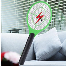 Handheld Racket Insect Fly Bug Wasp Mosquito Swatter Killer Elektrische Tennis Bat(China)