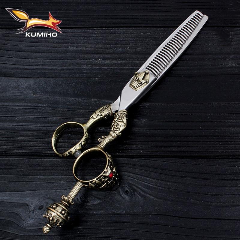 KUMIHO японський ножиці для волосся - Догляд за волоссям та стайлінг - фото 4