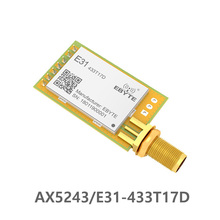 E31-433T17D AX5043 433Mhz 50mW RF IoT uhf wireless transmitter and receiver module Long Distance Transparent transmission efr32 868mhz 100mw smd wireless transceiver e76 868m20s long distance 20dbm soc arm 868 mhz transmitter receiver rf module