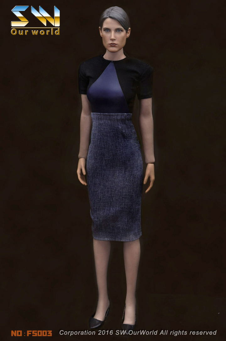 1/6 scale figure clothing Accessory Female dress+shoes for 12 Action figure doll Maria Hill,Not included doll and accessories new sexy vs045 1 6 black and white striped sweather stockings shoes clothing set for 12 female bodys dolls