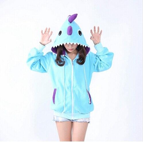 Anime Pokemon Shiny Umbreon Women Men Zip Hoodie with Ears ... 0541028af3