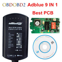 10pcs Lot Adblue 9 In 1 Supports EURO 4 5 With NOX Sensor Adblue Emulator 9in1