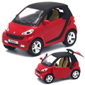Mini Smart 1:32 Auto Model Pull Back Diecast Metal Car Boy Collection Alloy Car-styling Toys Acousto-optic Oyuncak Araba