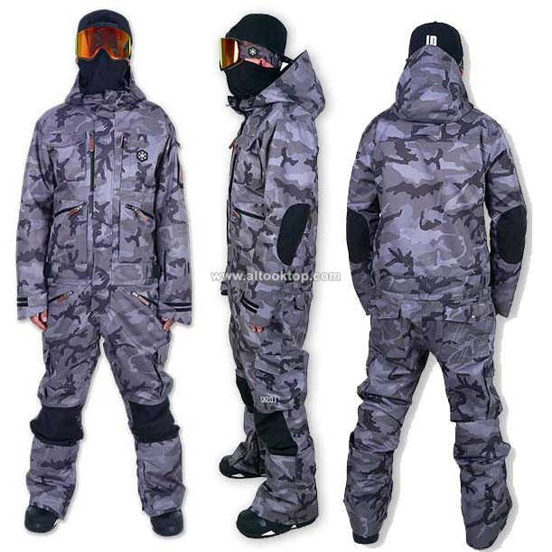 ... fashion overall men women ski suit snowboard jacket ski pants snow sled  waterproof snowmobile jumpsuit ladies ... 33b068a80