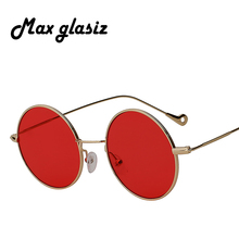 907ff12aec Buy sunglasses circle red man and get free shipping on AliExpress.com