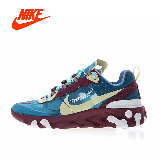 61a40c0c777f Original Authentic UNDERCOVER x Nike Upcoming React Element 87 Men s  Running Shoes Sport Outdoor Sneakers Designer AQ1813-343
