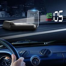 Adeeing C500 HUD Head Up Display Car Speedometer Digital Horizontal Reflective Projector Alarm System Universal Auto r20 autool x30 hud obd 2 head up display car gps speedometer headup obd2 projector headup smart digital auto universal display meter