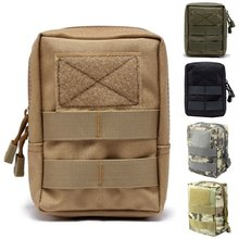 CQC Tactische Molle Systeem Medische Pouch 1000D Utility EDC Tool Accessoire Taille Pack Telefoon Case Airsoft Jacht Pouch(China)