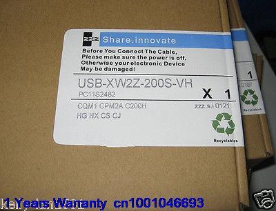 DHL/EUB 5 pcs D'origine pour OMRON PLC XW2Z-200S-VH Programmation Câble USB à RS232 Nouveau Dans la Boîte 15-18