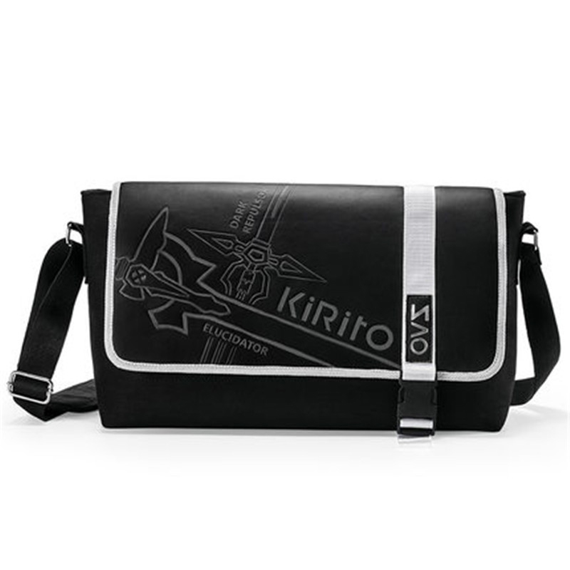 ФОТО Sword Art Online Cartoon Animation Cosplay Shoulder Bag SAO Kirigaya Kazuto Messenger Crossbody Bags