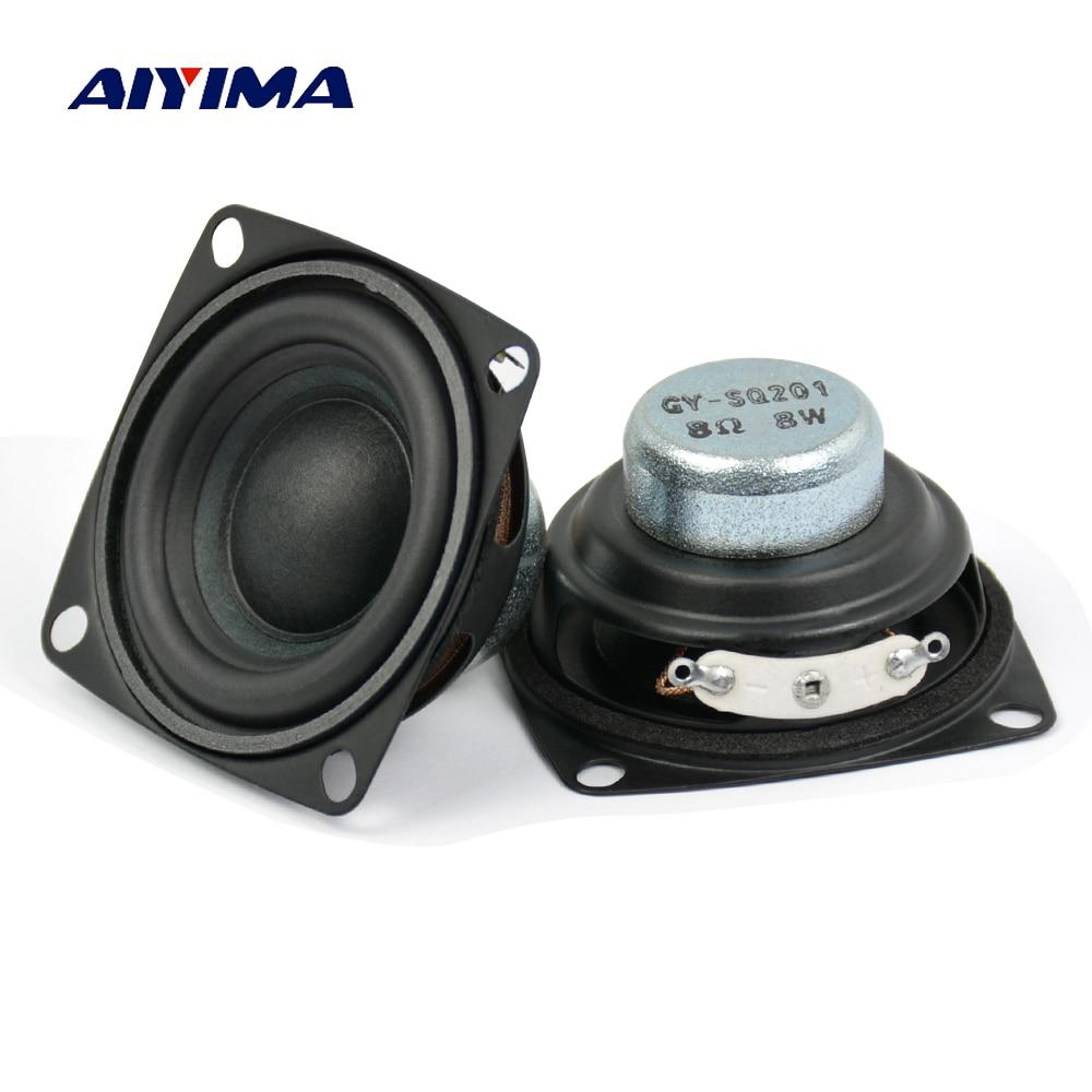 2Inch 5-10W Full Range Neodymium Magnetic Speaker 4Ohm 8Ohm Loudspeaker