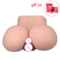 Super Real Big Masturbator Ass Life Silicon Vaginal and Anal Doll Sexy Big Pussy Sex Male Masturbator Toy Adult Sex Toys for Men