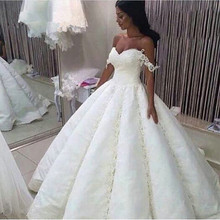 kejiadian 2019 Robe De Mariage Ball Gown Wedding Dresses