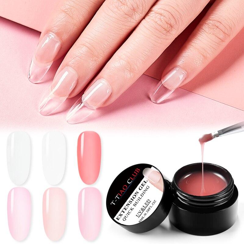Kds Soak Off Builder Extend Nails Gel Uv Builder Nude Pink