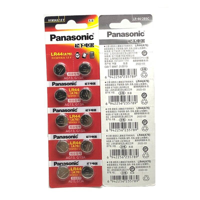 Coin Baterias A76 AG13 G13A LR44 LR1154 357A SR44
