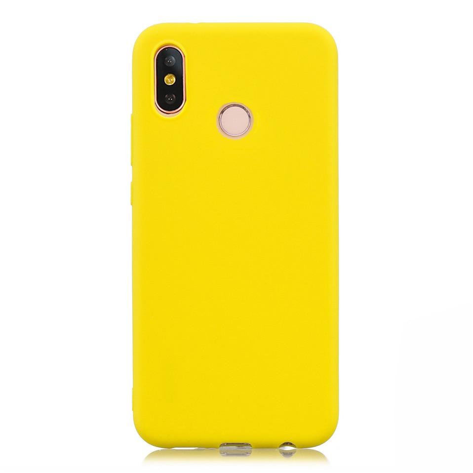 Candy Macaron Color Case For Xiaomi Redmi S2 6A 6 Pro 12