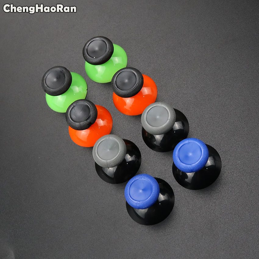 ChengHaoRan 1 Pair For Microsoft XBox One X S Controller 3D Analog Thumb Sticks Grip Joystick Cap Mushroom ThumbSticks
