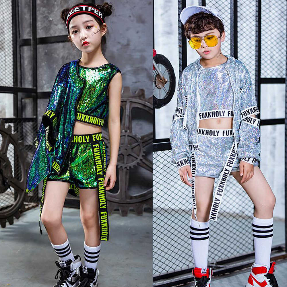 85578b9e6076 Detail Feedback Questions about New Hip Hop Dance Costumes Girls ...