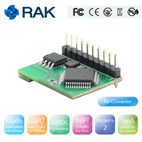 RAK425 Wireless UART Serial WIFI Module to IoT Low Power Tiny Size for Industrial Grade Integrated TCP/IP Protocol Q124