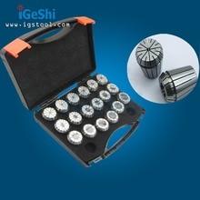 19pcs ER32 Collet Set Range 2mm to 20 mm  Precision: 0.005mm-0.008mm