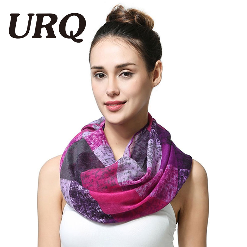 Infinity Scarf for Woman  Fashion Designer Winte Tube Scarves Warm Plaid lady Ring Scarfs Loop Wraps Large V8A18430