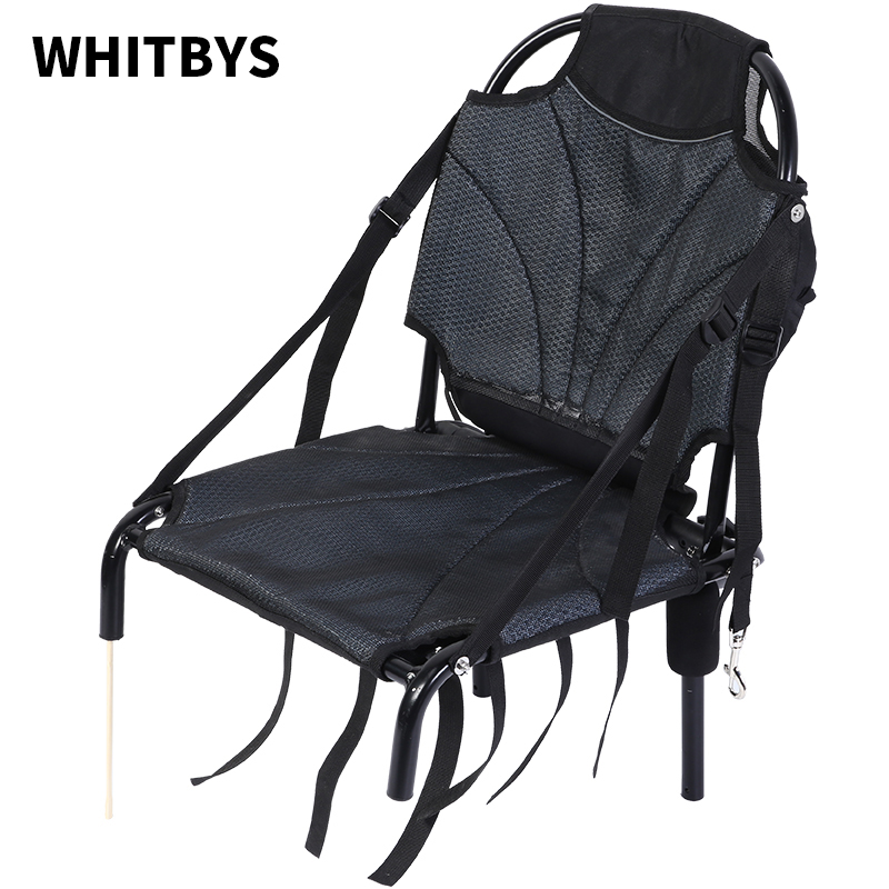 Free Shipping Adjustable Kayak Cushion Canoeing Sit On Top Backrest Seat Inflatable Boat Seat With Storage Bag
