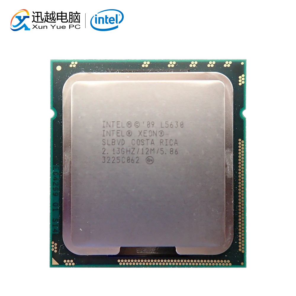 Intel Xeon L5630 Desktop Processor Quad-Core 2.13GHz L3 Cache 12MB 5.86 GT/s QPI LGA 1366 SLBVD 5630 Server Used CPU