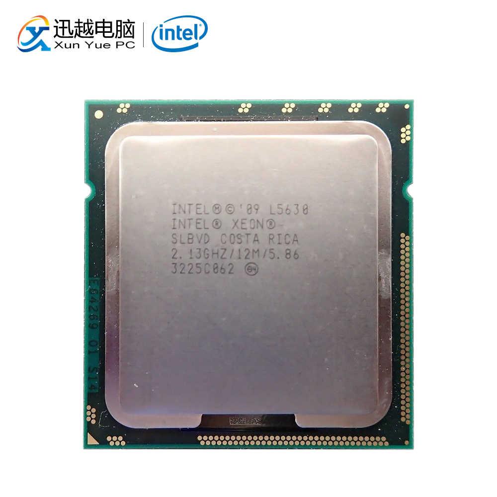 Intel Xeon L5630 Máy Tính Để Bàn Bộ Vi Xử Lý Quad-Core 2.13GHz L3 Cache 12 Mb 5.86 GT/S Dành Cho Xe Hơi Carplan QPI LGA 1366 Slbvd 5630 Máy Chủ Sử Dụng CPU