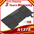 """Wholesale Free Shipping 35WH 7.3V New Laptop Battery A1375 For Apple Macbook Air 11""""MC505LL/A MC506LL/A MC507LL/A MC969LL/A"""