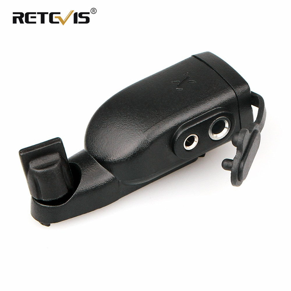 Audio Adaptor For Motorola GP328Plus To Two-pin M Plug Accessories For RETEVIS RT82/RT87/RT29 Ailunce HD1 For HYT Walkie Talkie