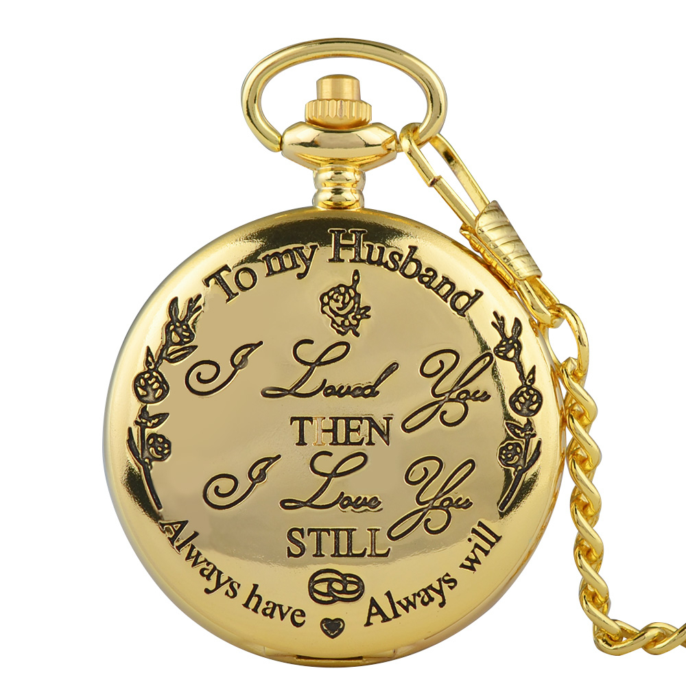 Vintage Chain Retro The Greatest Pocket Watch Necklace For Grandpa Dad Gifts Reloj Skyrim New Arrival Free Shipping Hot Sale