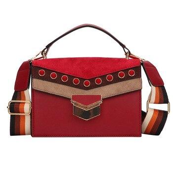 Bags for Women 2019 Fashion Quality PU Leather Women Messenger Bag Shoulder Bag Travel Tote Crossbody Bag B145
