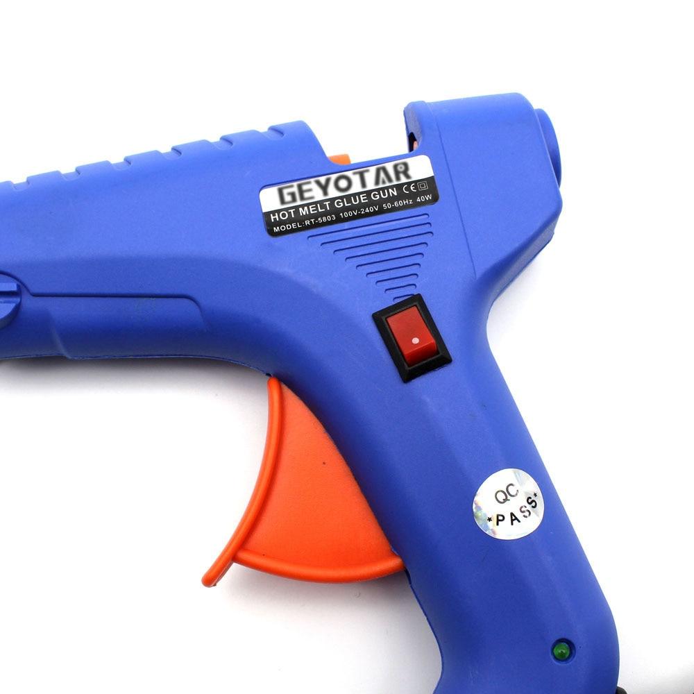 40 W UE Wtyczka pistoletu do klejenia na gorąco z bezpłatnym 1szt - Elektronarzędzia - Zdjęcie 5