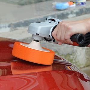Image 2 - 6 Inch 14M 16M Auto Polijsten Cleaning Spons Polijsten Waxen Pad Wiel Auto Polijstmachine Accessoires Polijstmachine Pad paint Care