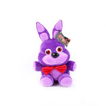 4 Styles Anime Five Night At Freddy Fnaf Bear Foxy 14 CM Plush Toys Stuffed Freddy Toys Doll Children Birthday Gifts(China)